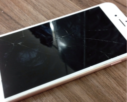 iphone6sフロントパネル修理修理しました!スマレンジャー平野店