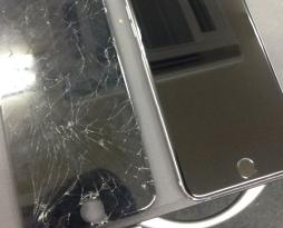 iphone6SPの液晶とホームボタンを修理しました!スマレンジャー平野店