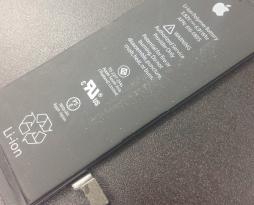 iphone6のバッテリー交換を行いました!スマレンジャー平野店