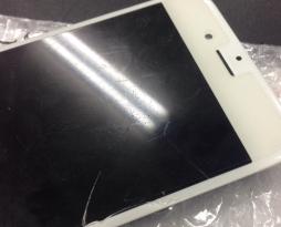 iphone6Sの画面割れガラス修理を行いました!スマレンジャー平野店