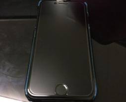 iPhone7保護フィルムの貼り付け!スマレンジャー平野店