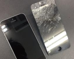 再び!iphone5sの画面修理を行いました!スマレンジャー平野店