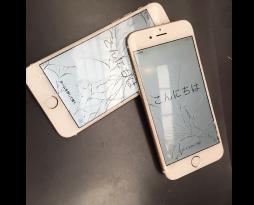 iPhone6の画面割れ!スマレンジャー難波店