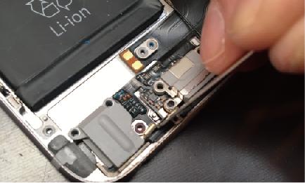iPhone6ドックコネクタ交換7