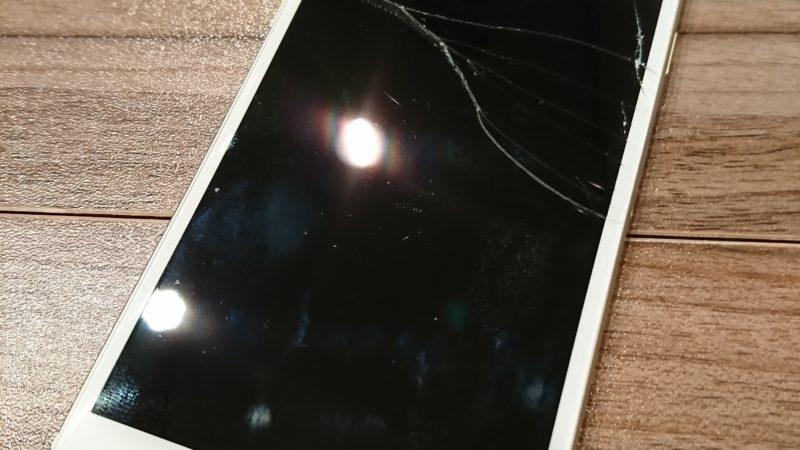 iPhone6の液晶を修理しました…iPhone修理戦隊スマレンジャー近鉄八尾店