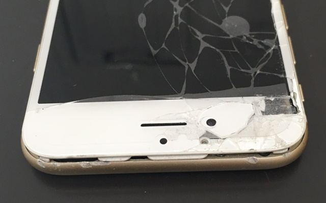 iphone6画面浮き