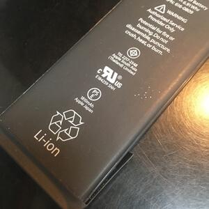 iphone6のバッテリーを交換致しました!スマレンジャー近鉄八尾店
