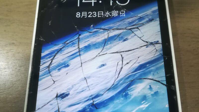 iPhone5cの液晶交換☆スマレンジャー梅田店