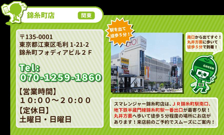 錦糸町駅前店の基本データ02