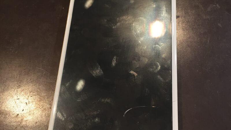 iphone6sのガラス割れ修理を実施致しました!