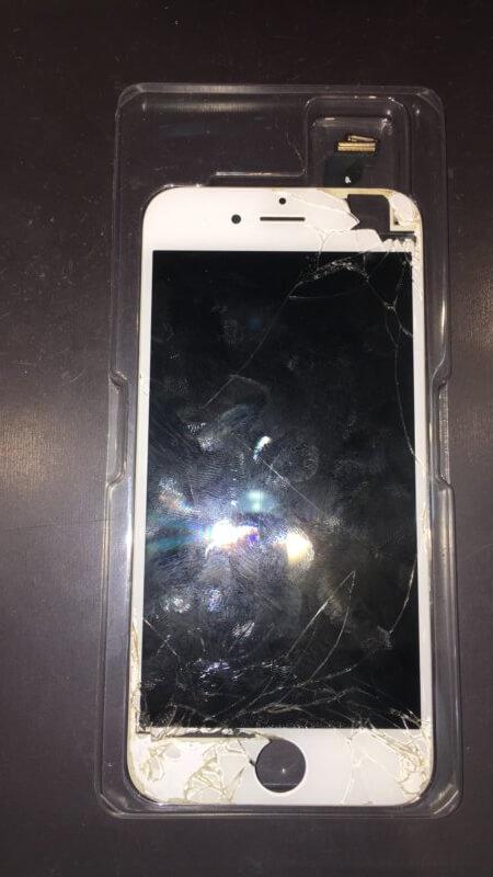 iPhone6の画面修理をさせて頂きました: iPhone(アイフォン)修理戦隊!スマレンジャー【格安で即日対応】