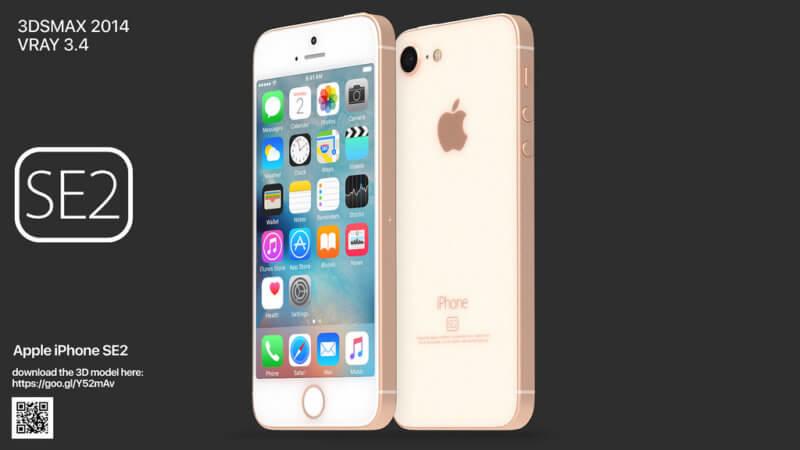 これが「iPhone SE 2」?「iPhone SE 2」の予測画像が公開!