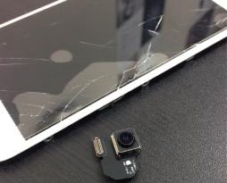 iphone6 液晶画面 バックカメラを修理致しました!スマレンジャー平野店