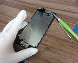 iphone6ブラックの液晶画面を修理致しました!スマレンジャー平野店