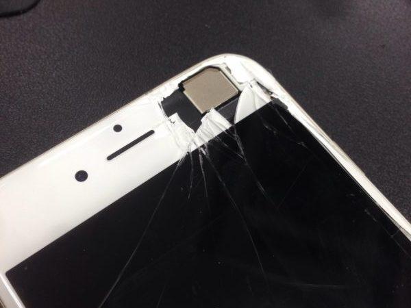 iphone6画面割れ修理致しました!スマレンジャー平野店