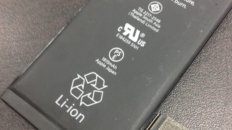 iphone6バッテリー交換致しました!スマレンジャー平野店
