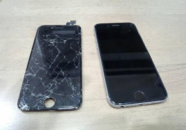 iPhone6の修理をしました  スマレンジャーならさくっと20分٩(ˊᗜˋ*)و
