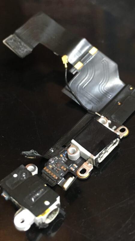 iphone5Sバッテリーや充電口の交換!スマレンジャー近鉄八尾店