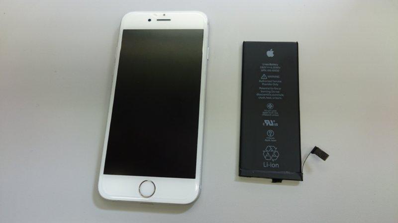 iphone6sバッテリー交換iPhone(アイフォン)ガラス(液晶)交換、修理ならスマレンジャー【格安で即日対応】